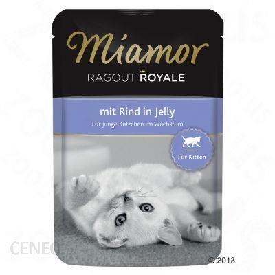 Miamor Ragout Royale Kitten Wołowina W galaretce 22x100g