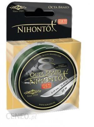 MIKADO PLECIONKA NIHONTO OCTA BRAID 018 GREEN 150m (Z24G018)