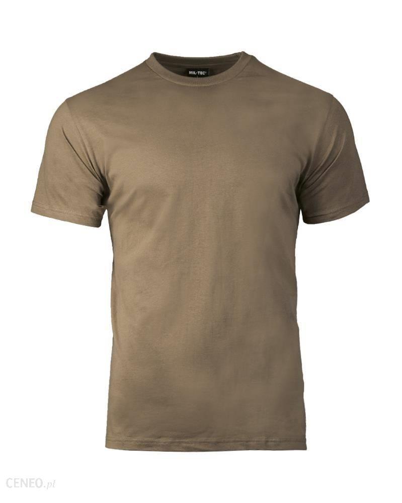 Mil-Tec Bawełniana Koszulka W Stylu Amerykańskim Kolorze Coyote Brown 1