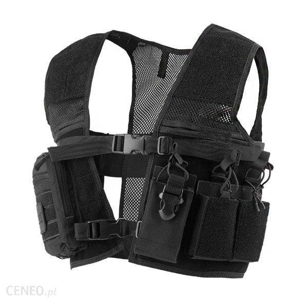 Mil-Tec Modułowa Kamizelka Security Combat Mesh Vest Czarny 10760002