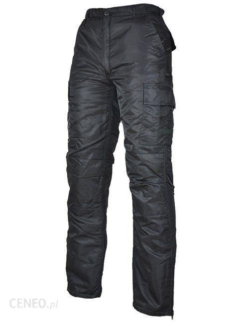 Mil-Tec Spodnie Ocieplane MA1 Czarne