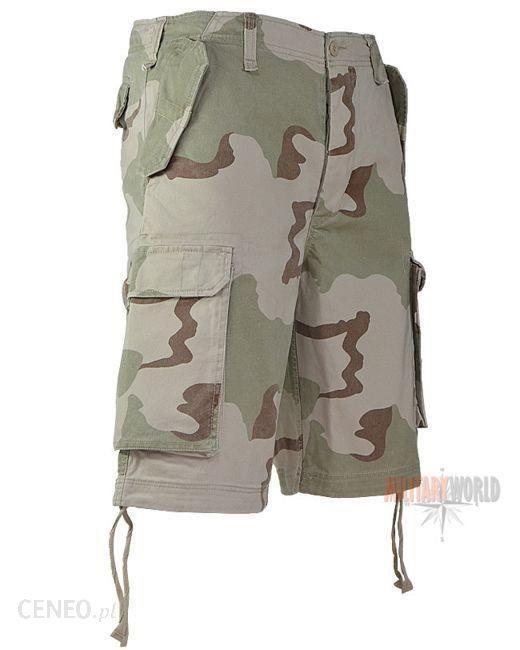 Mil-Tec Szorty Bermudy Paratrooper Desert 3-color