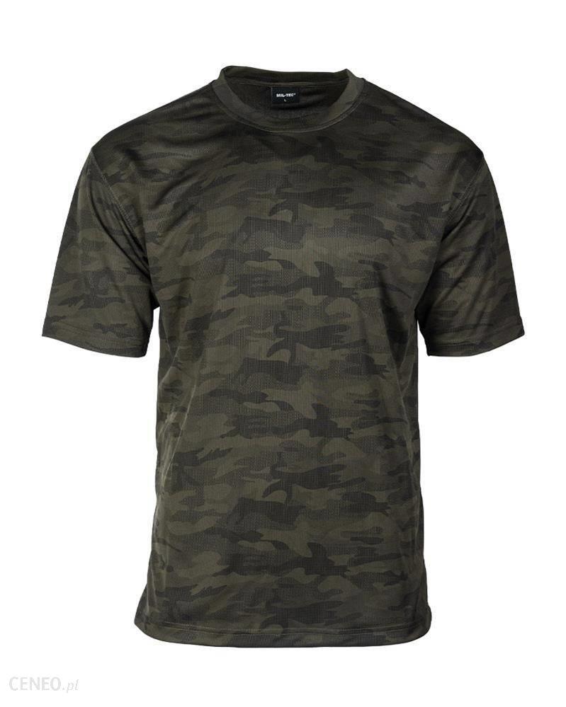 Mil-Tec T-Shirt Z Siateczki Woodland 1