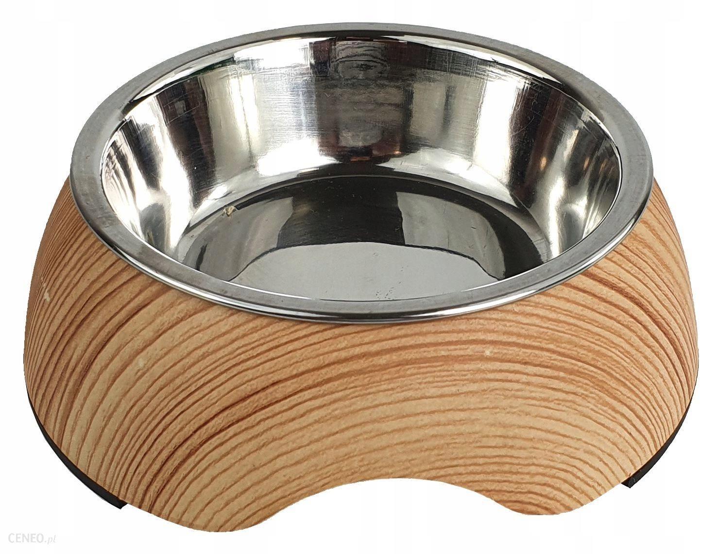 Miska dla psa / kota z melaminy Kerbl Wood