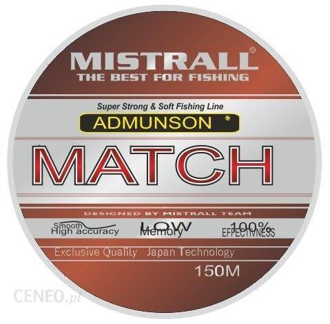 mistrall Żyłka Admunson match 150m 0