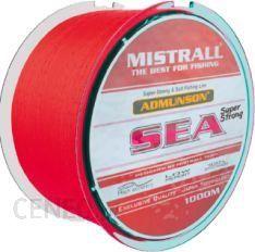 Mistrall Żyłka Admunson SEA red 1000m 0