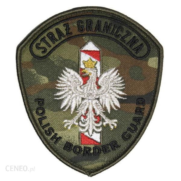 "Mon Emblemat Naramienny Straży Granicznej ""Polish Border Guard"" (Mil2608) Sr"