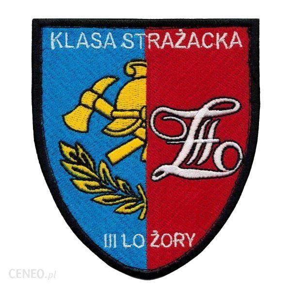 Mon Emblemat Naramienny Szkolny Klasa Strażacka Iii Lo W Żorach (Mil2920) Sr
