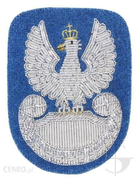 Mon Orzełek Wojska Polskiego Do Beretu Niebieski (Haft Bajorkiem) (Mil2365) Sr