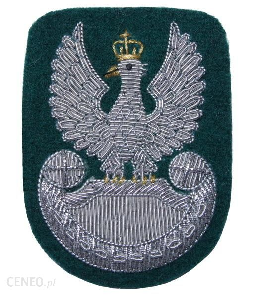 mon Orzełek Wojska Polskiego do beretu zielony haft bajorkiem MIL1370 SR