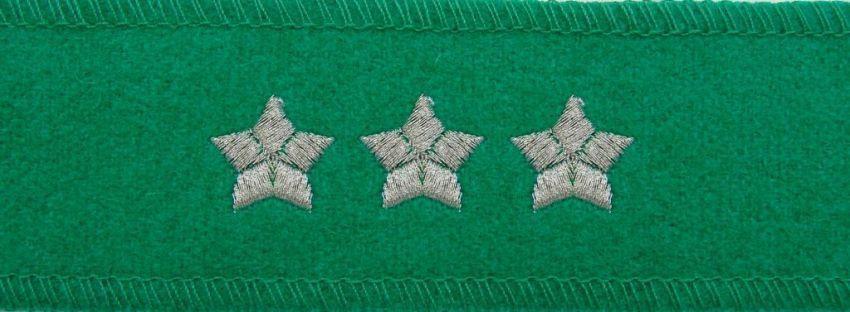 mon Otok do czapki garnizonowej Straży Granicznej porucznik / pułkownik MIL1259 SR
