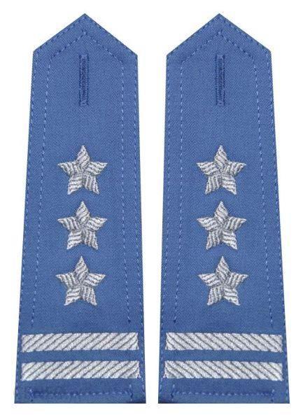mon Pagony niebieskie do koszuli Służby Więziennej pułkownik haft MIL1043 SR