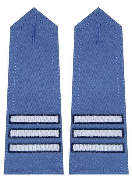 mon Pagony niebieskie do koszuli Służby Więziennej starszy kapral haft MIL1057 SR