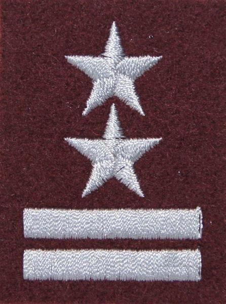 mon Stopień na beret WP bordowy / h podpułkownik MIL1836 SR