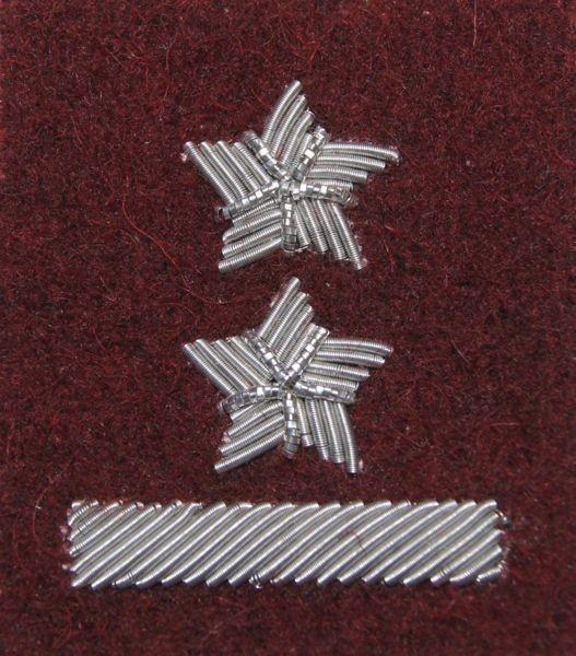 mon Stopień na beret WP bordowy / haft bajorkiem podporucznik MIL1357 SR