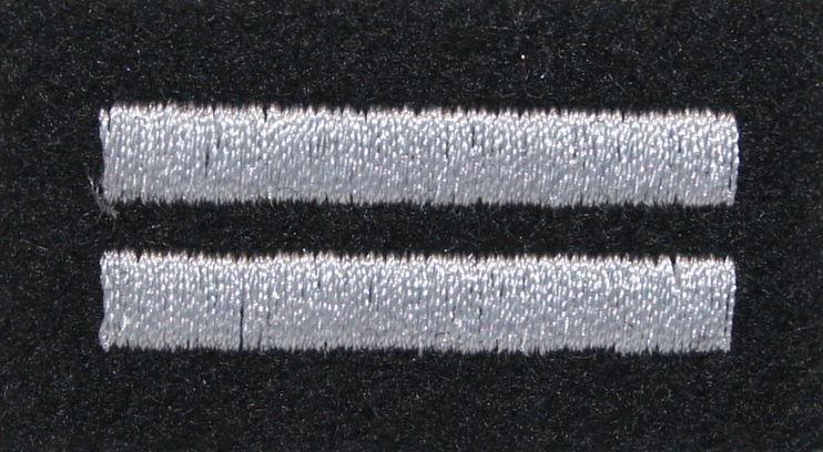 mon Stopień na beret WP czarny / h kapral MIL1833 SR