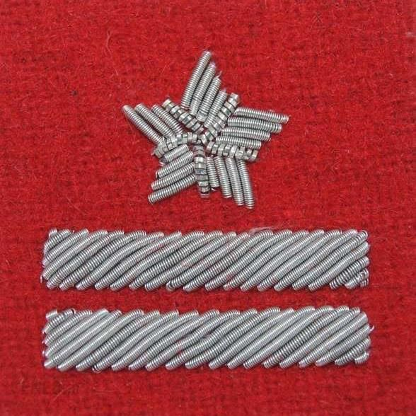 Mon Stopień Na Beret Wp Szkarłatny/Haft Bajorkiem Major (Mil3052) Sr