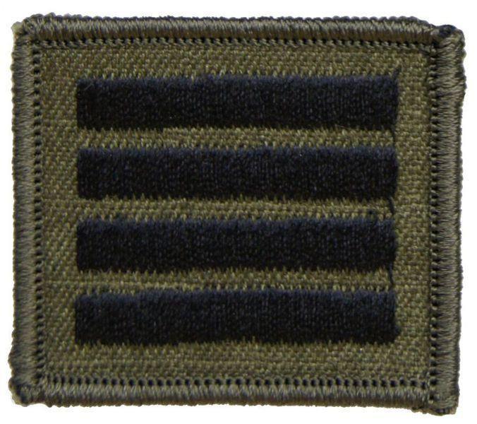 mon Stopień na czapkę służbową letnią Straży Granicznej plutonowy MIL1590 SR