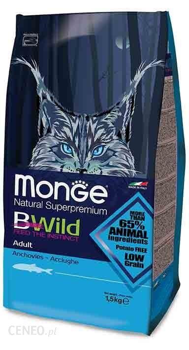 Monge Bwild Cat Adult Anchois 1