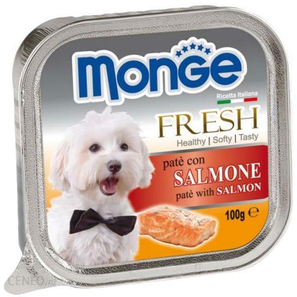 Monge Fresh Pasztet Z Łososiem 100G