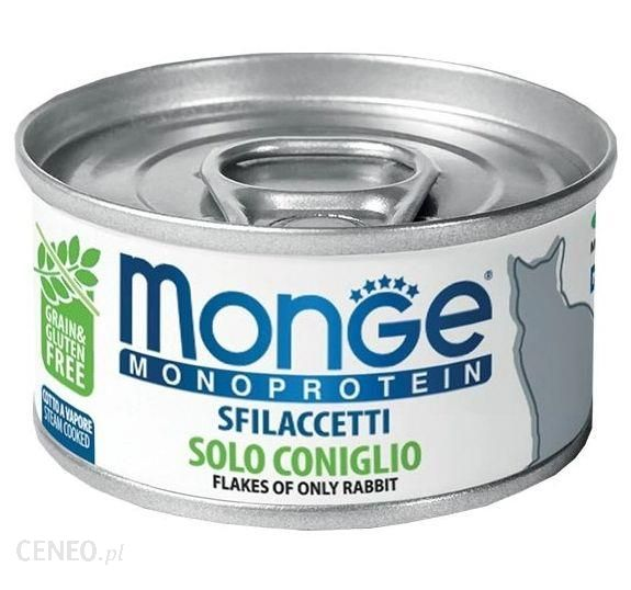 Monge Monoprotein Cat Z Królikiem 80G
