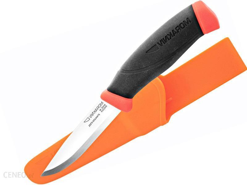 Morakniv® Companion F Orange Stainless Steel Pomarańczowy NZCF0SS24