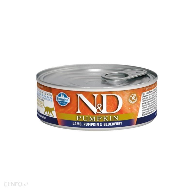 N&D Adult Cat Pumpkin Lamb & Blueberry 80G