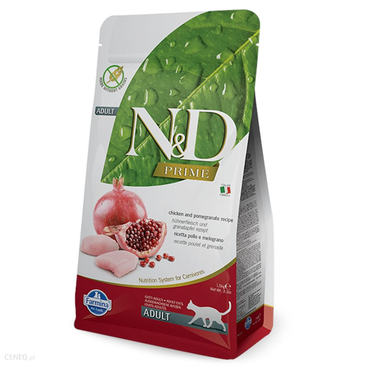 N&D Chicken And Pomegrante Adult 1