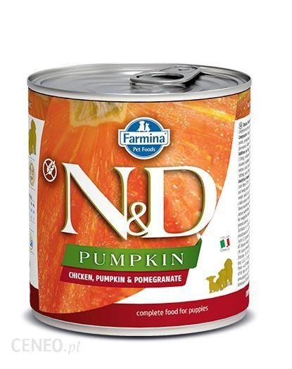 N&D Dog Chicken Pumpkin And Pomegrante Puppy 285G