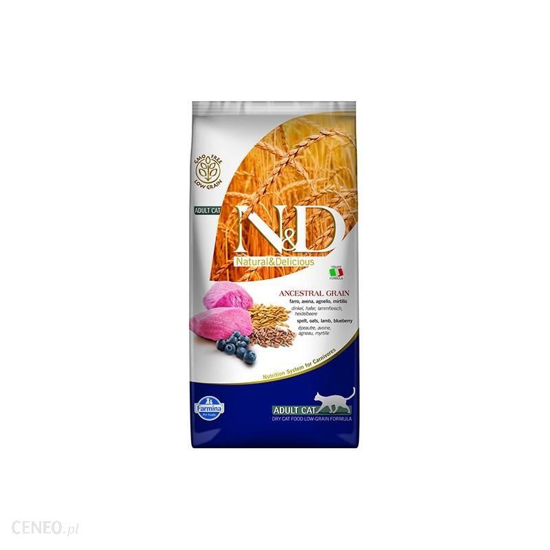 N & D Low Grain Lamb & Blueberry Adult Cat 5kg