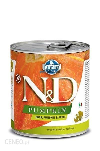 N&D Pumpkin Boar & Apple 285G