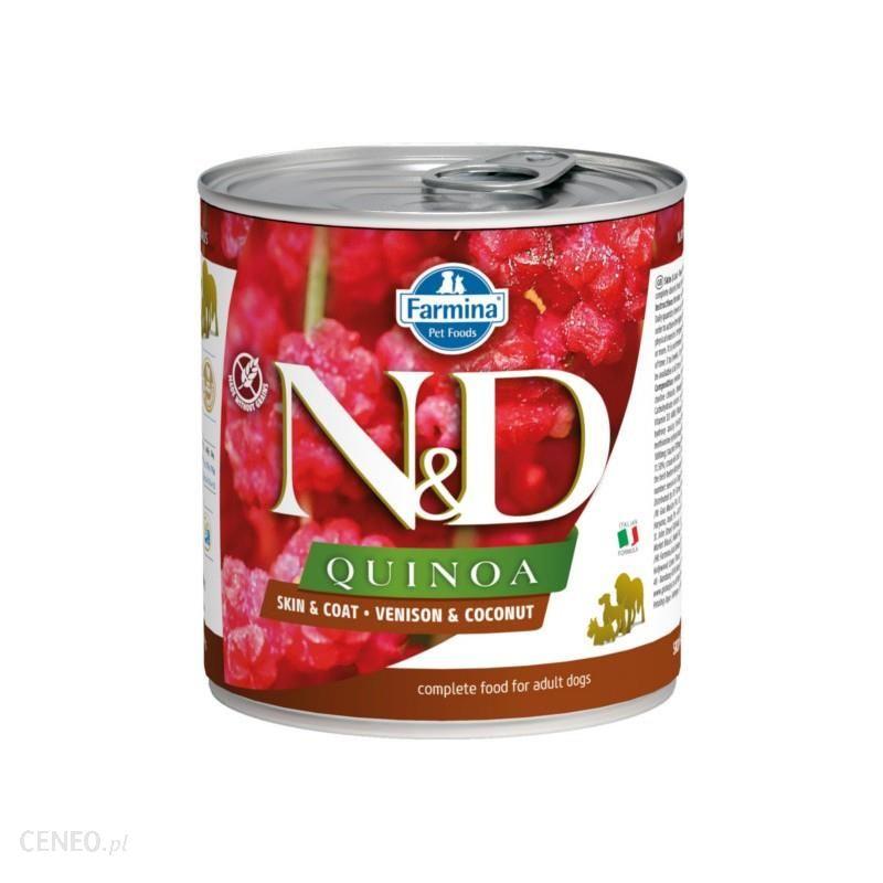 N&D Quinoa Venison Coconut 285G