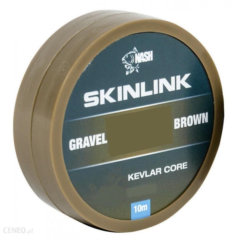 Nash Plecionka Przyponowa Skinlink Semi-Stiff 25Lb/10M Gravel