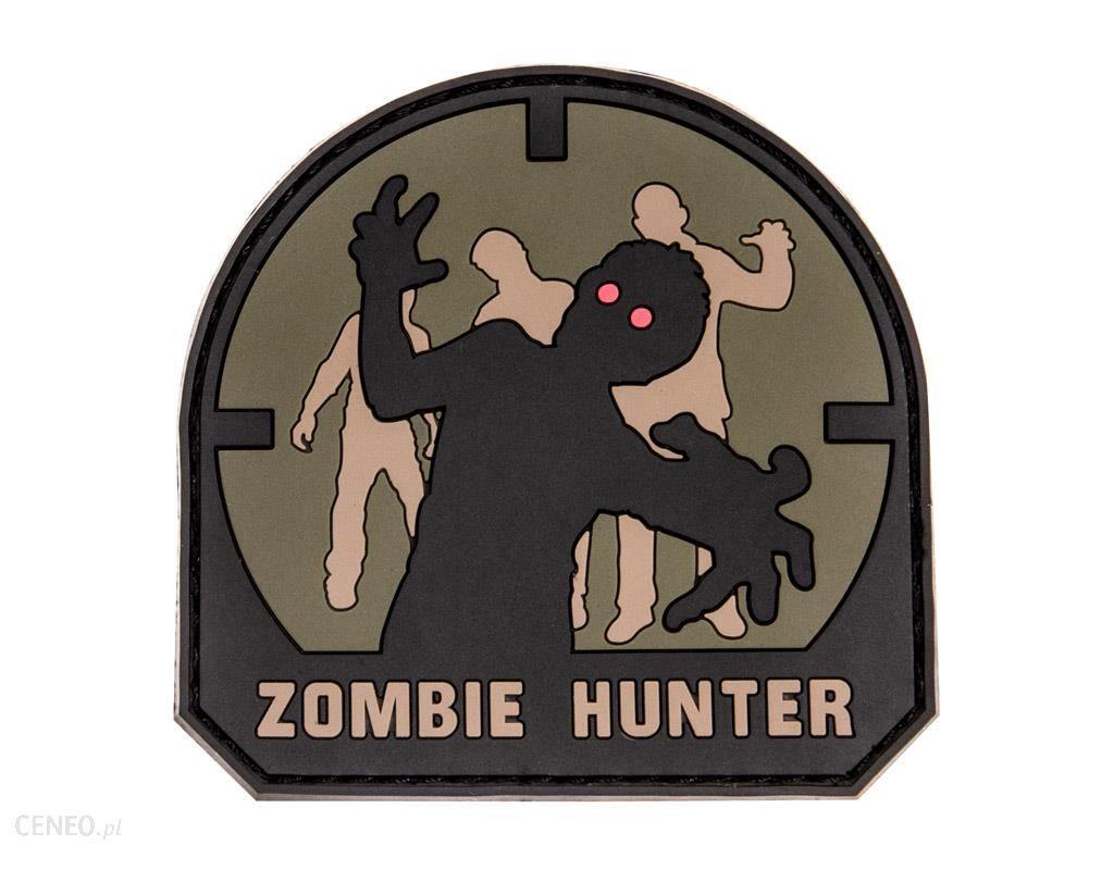 Naszywka Mil Spec Monkey Zombie Hunter PVC Forest MSM-30-019077-00