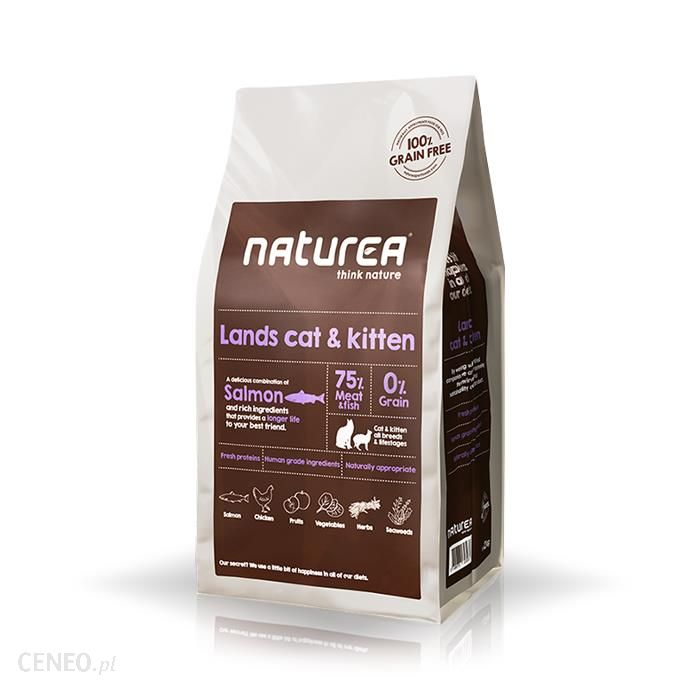 Naturea Lands Cat & Kitten 7kg