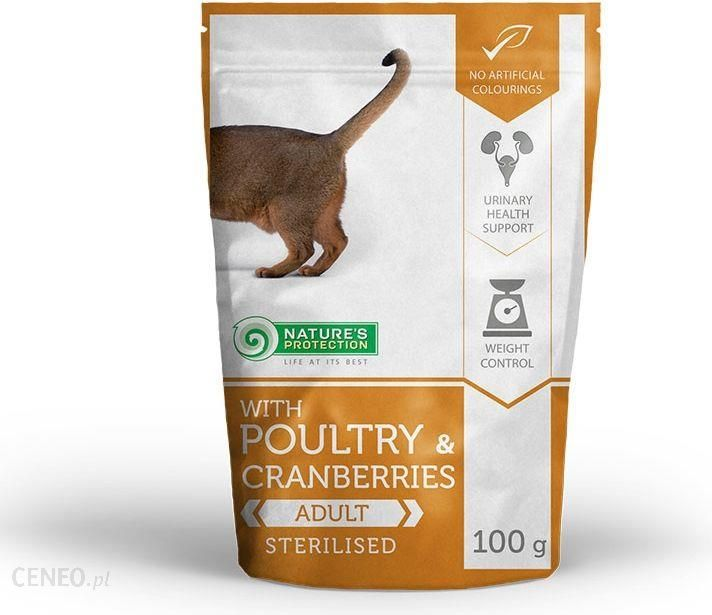 Natures Protection Poultry & Cranberries Sterilised 100G