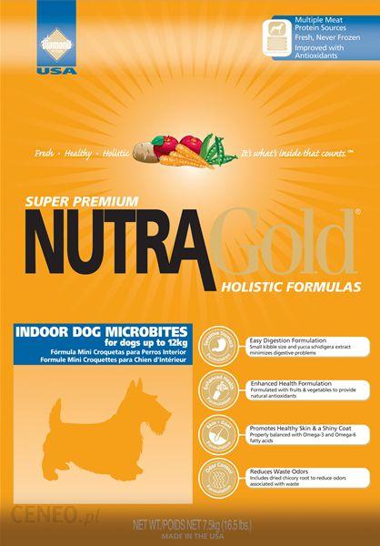 Nutra Gold Indoor Dog Microbites 3kg
