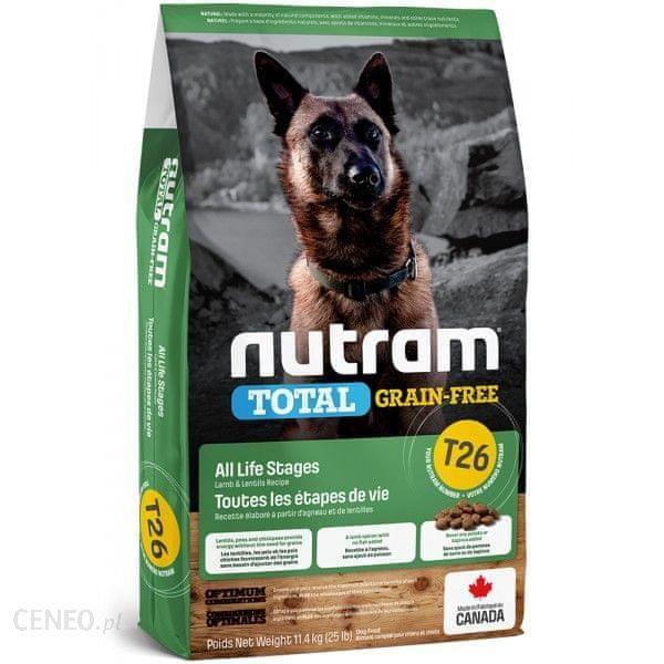 Nutram Total Grain Free Lamb Legumes Dog 11