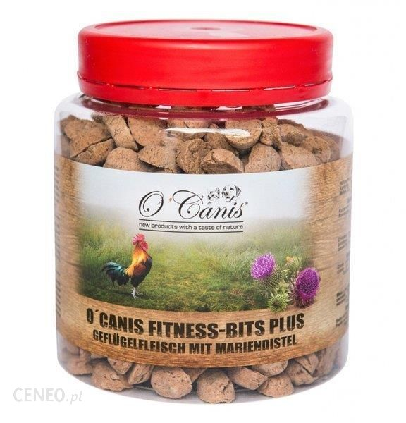 O'Canis Fitnes Bits Plus Drób Z Ostropestem 300G