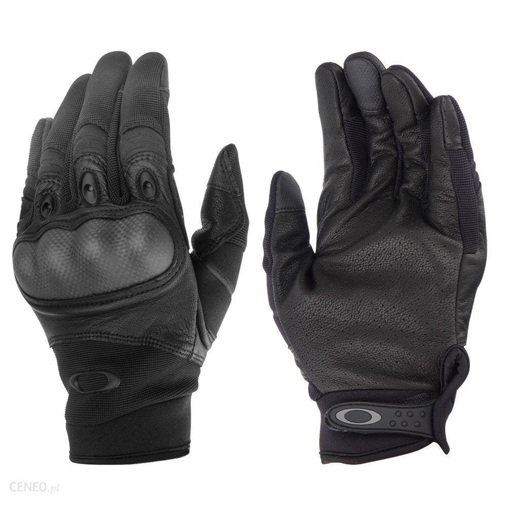 Oakley Rękawice Taktyczne Si Factory Pilot Gloves 2.0 Czarne Fos900167S