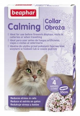 Obroża Relaksacyjna uspokajająca wyciszająca Kot