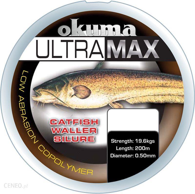 Okuma Ultramax 2Oz Carp 500M 19Lbs 9.8Kg 0.35Mm Brown (19177)