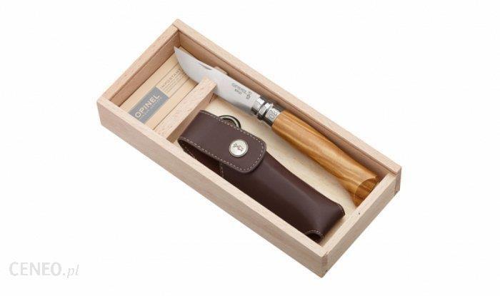 Opinel Nóż No 08 Z Etui Lux Olivewood