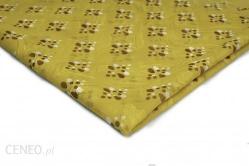 Orient Fashion Szyfon Drukowany nr 2 Żółty