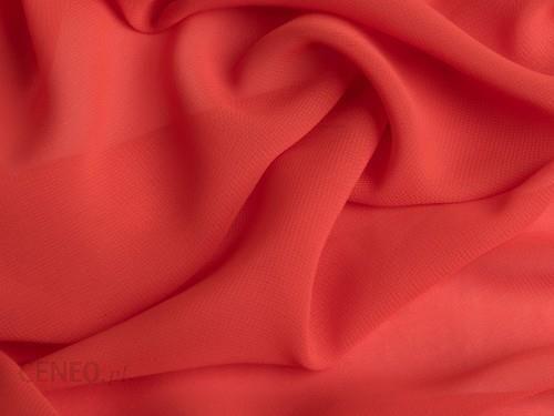 Orient Fashion Szyfon Gładki Mandarynka