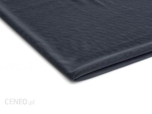Orient Fashion Tiul Siatka elastyczna dwustronnie ciągliwa Stalowy