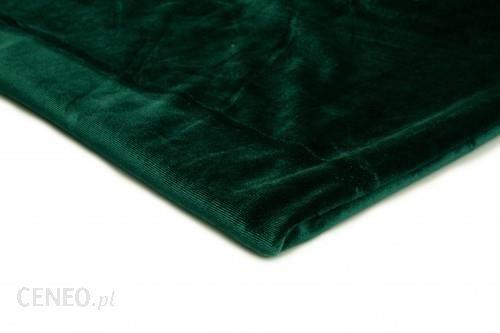 Orient Fashion Welur Aksamit Butelkowa zieleń