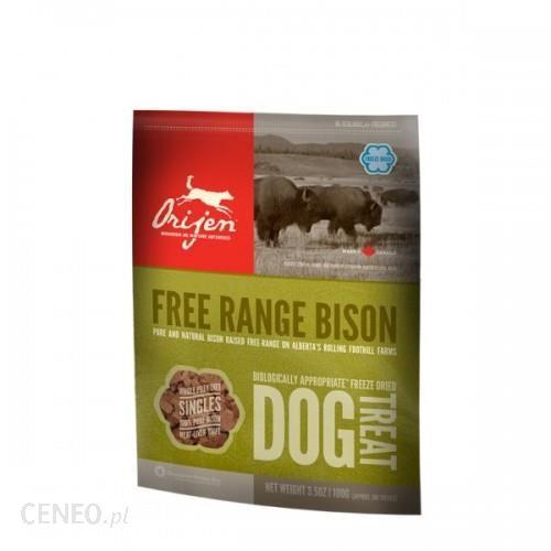 ORIJEN FD Treat Plains Bison Dog 56