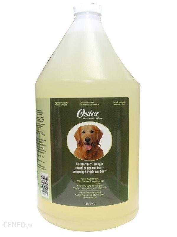 Oster Aloe Tear free shampoo łagodny szampon aloesowy 3