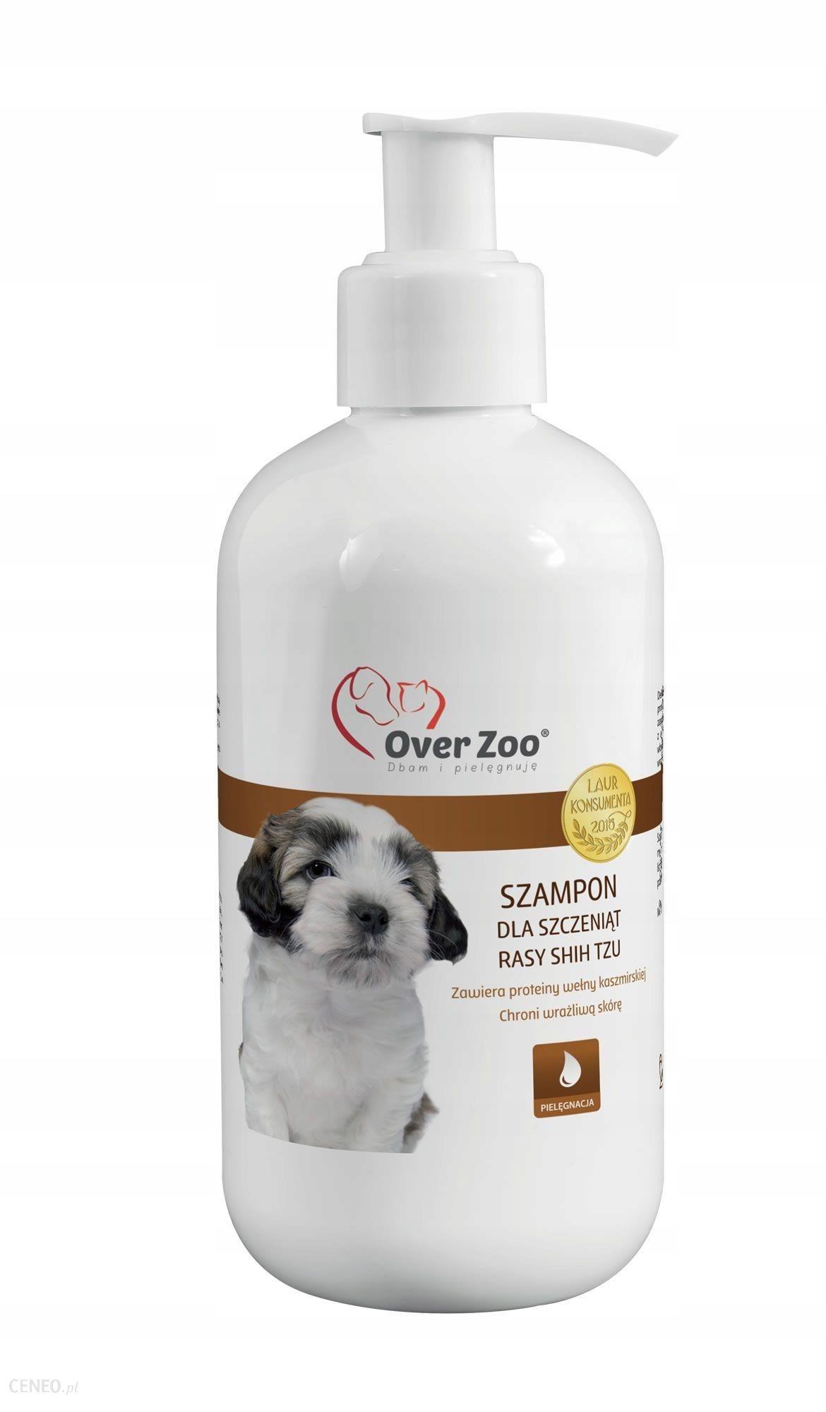 Over Zoo Szampon Dla Szczeniąt Rasy Shih Tzu 250Ml